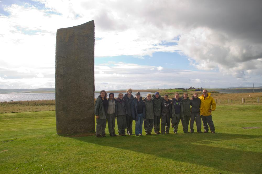 Group at Stenness